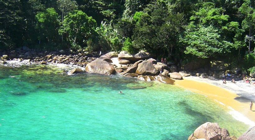 Praia do Caxadaço - Ilha Grande