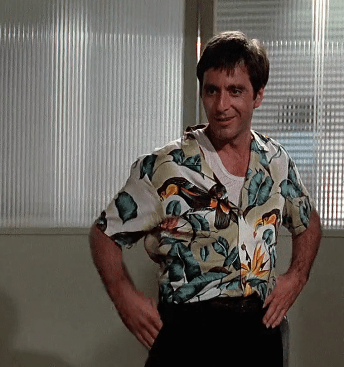 Scarface. Roupas dos personagens