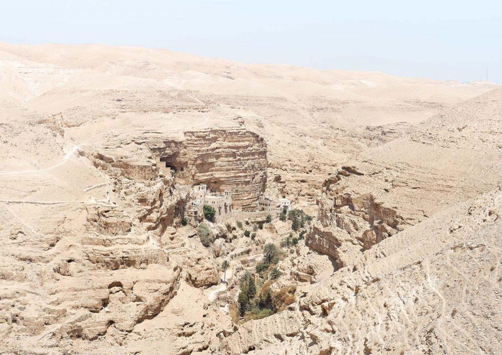paisagem do oriente médio