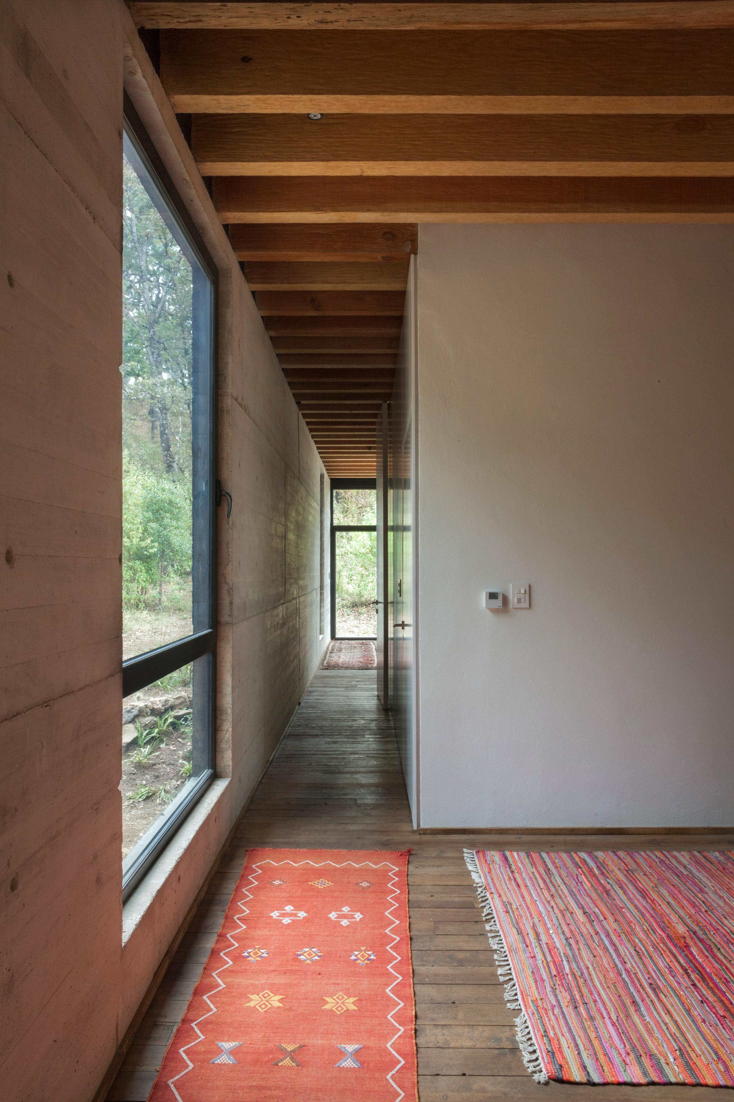 corredor casa isolada