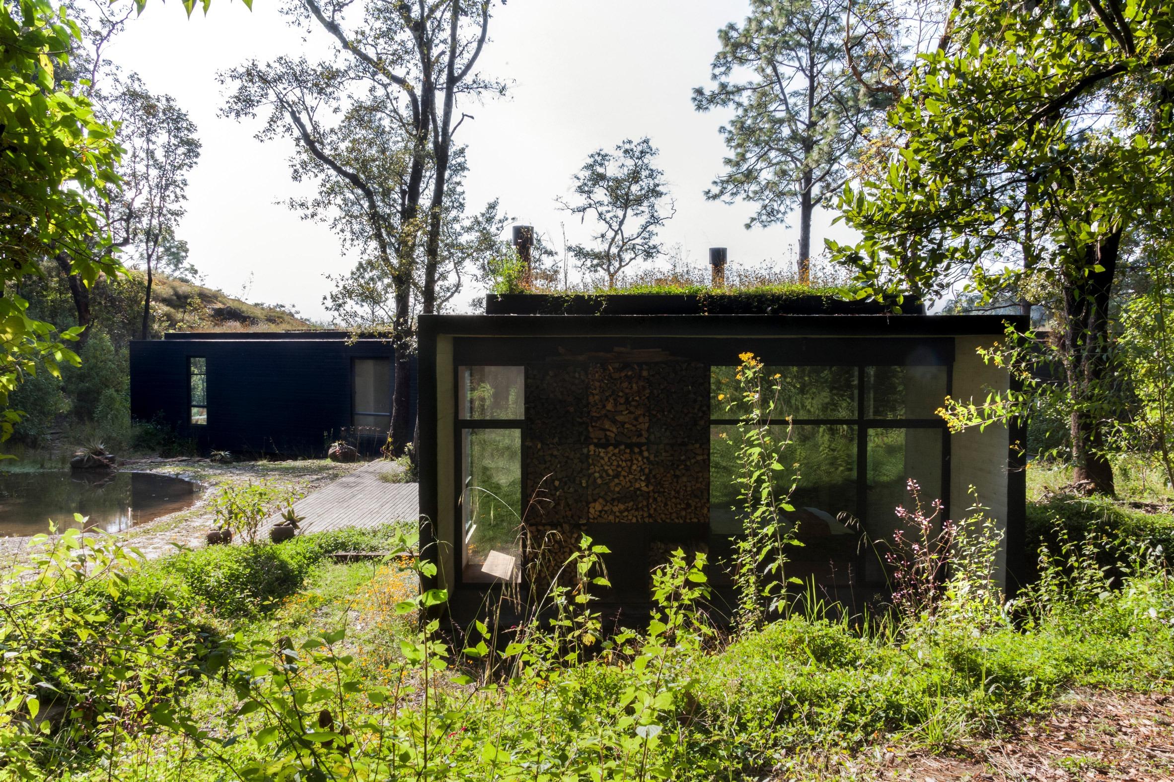 lago casa isolada