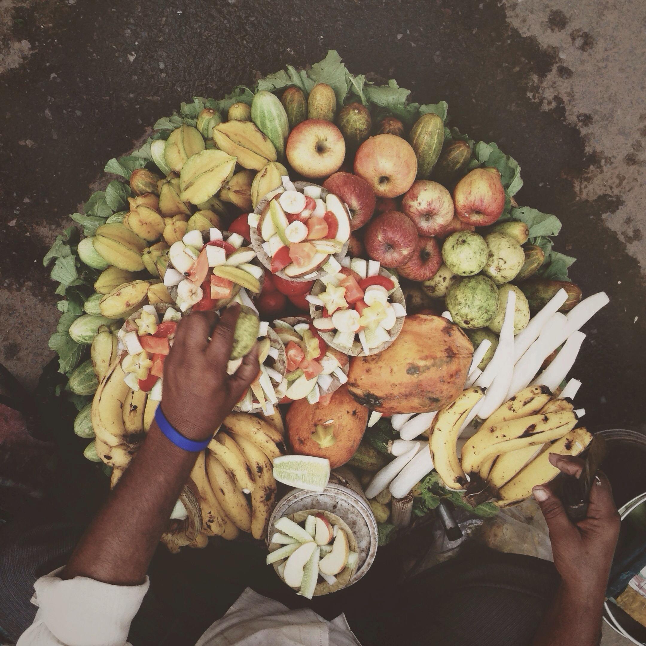 frutas mal de mar
