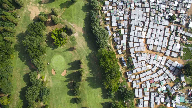 desigualdade social cidade golf
