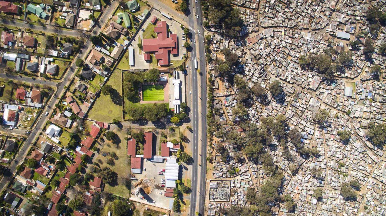 desigualdade social comunidade cidade