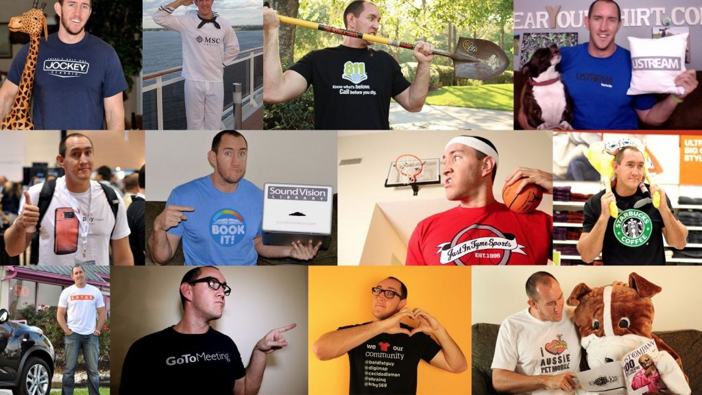 negocios inusitados I wear your shirt