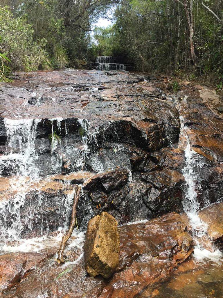 trilha das 7 cachoeiras em são luiz do paraitinga