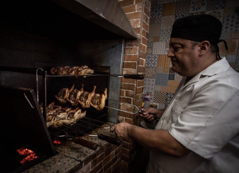 Restaurante Galeto Lousão, foto de Otávio Valle