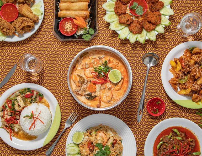Restaurante Tailandes Thai E-San, na Liberdade.