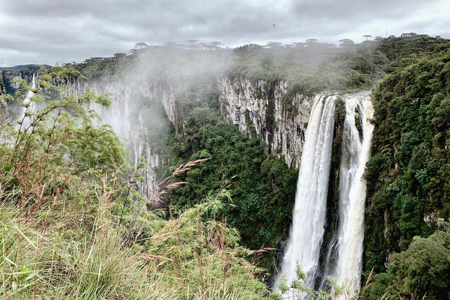 Trilha do Vértice no Canyon Itaimbezinho