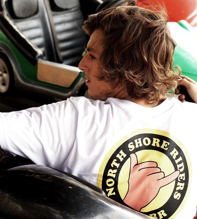 North Shore Riders, marca de camiseta masculina de Maresias.