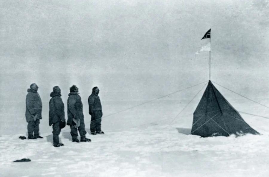 expedição ao Pólo Sul