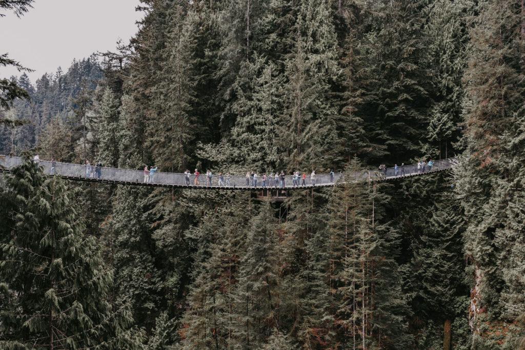 Ponte Suspensa de Capilano