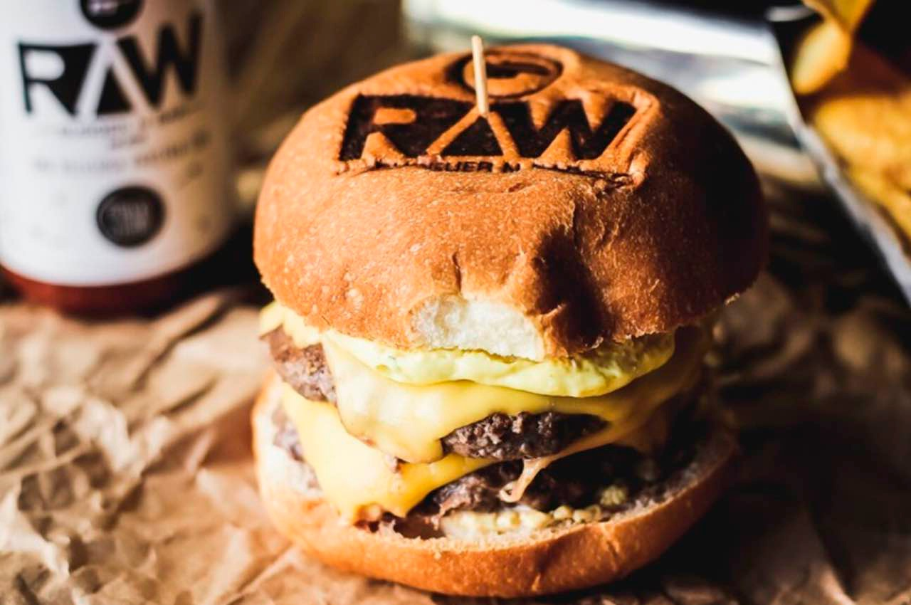 Raw Burger Double