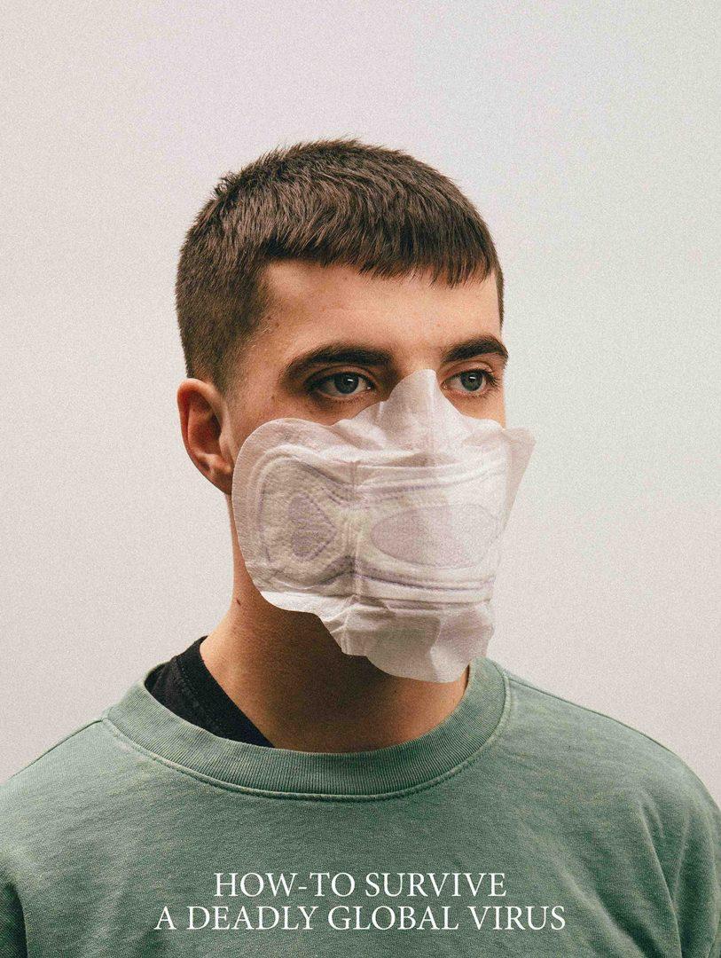 Mascara de absorvente