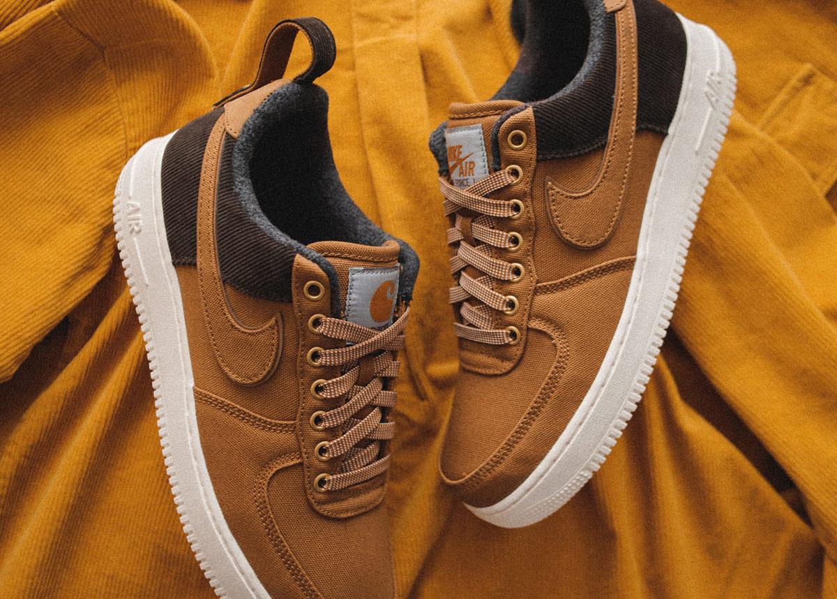 Collab da Carhartt com a Nike, no blog Streetwear BR